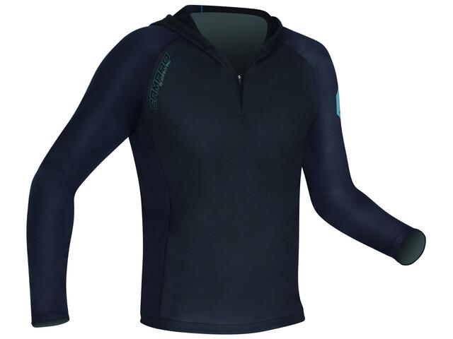 Camaro Blacktec - T-shirt manches longues Homme - bleu/noir